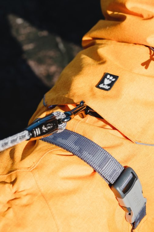 Expedition Parka Harness detail NZ