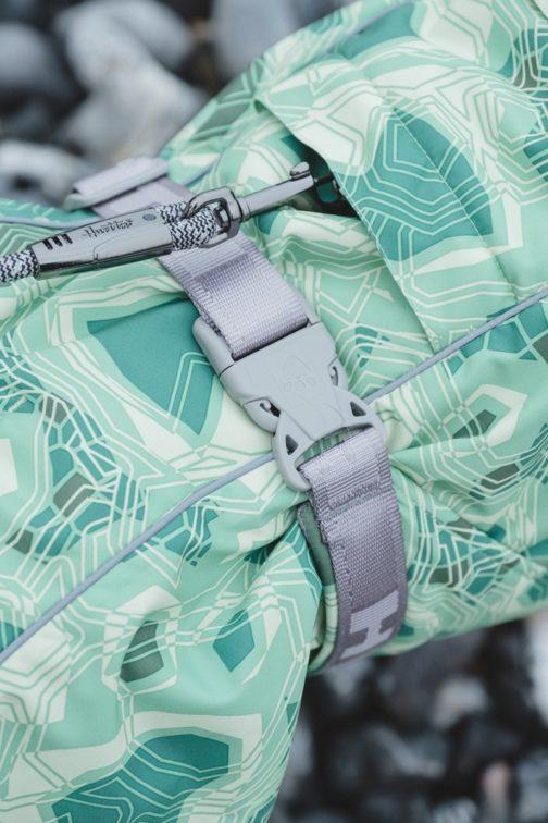 Hurtta Extreme Warmer harness detail NZ